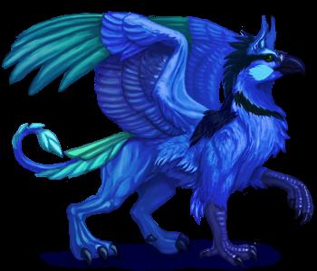 Splendid Fairy Wren Gryphon
